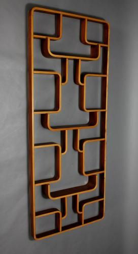 Czech Plywood Room Divider by Jindrich Volak for Holesov, 1960s for sale at Pamono