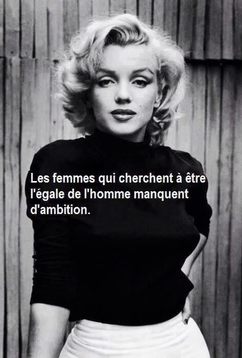 les 25 meilleures id es de la cat gorie citations de marilyn monroe sur pinterest citations. Black Bedroom Furniture Sets. Home Design Ideas