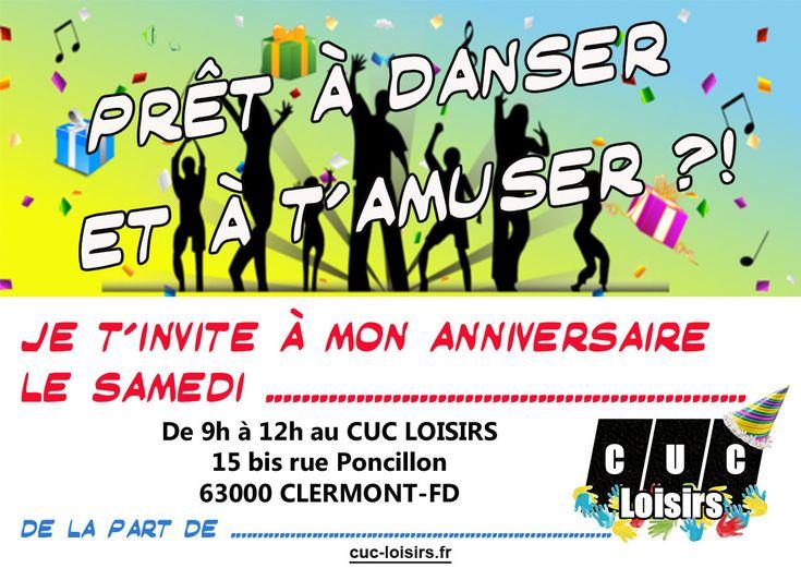 Carte D'invitation Anniversaire Boum Gratuite Unique Invitation Anniversaire Ado Boum | Carte ...