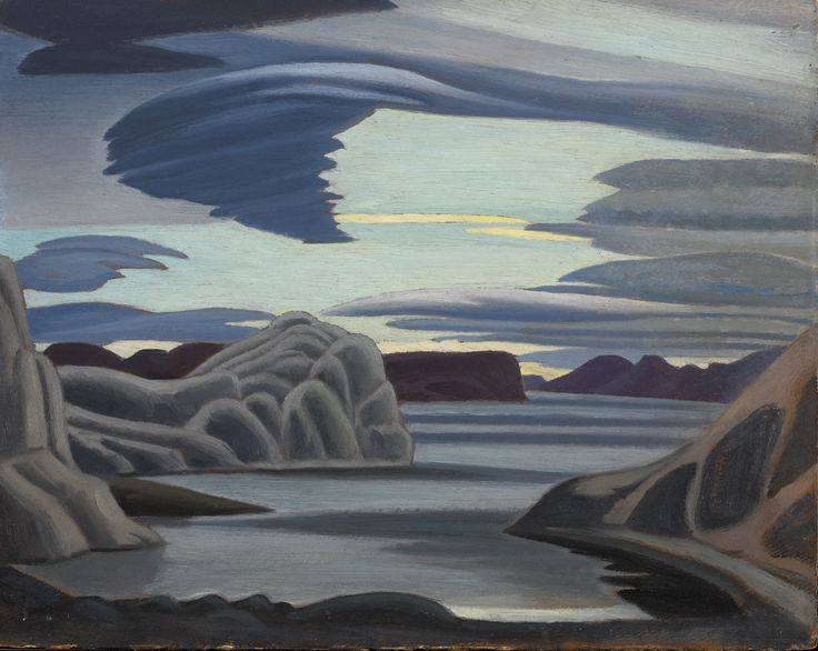 Lawren Harris (1885-1970)Lake Harbour, South Shore, Baffin Island, Morning (1930) oil on beaverboard 30.2 × 38.2 cmNational Gallery of Canada, Ottawa