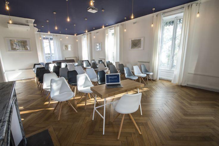 L Hotel Particulier Lyon Le Grand Salon Juliette Recamier salle de conférence salle de séminaires salle de formation