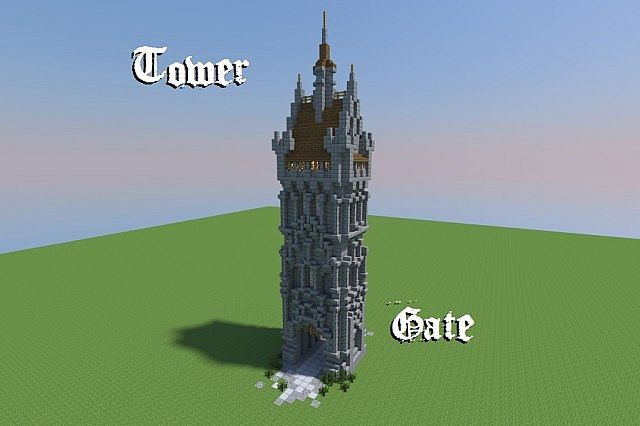 Tower Gate Minecraft Project
