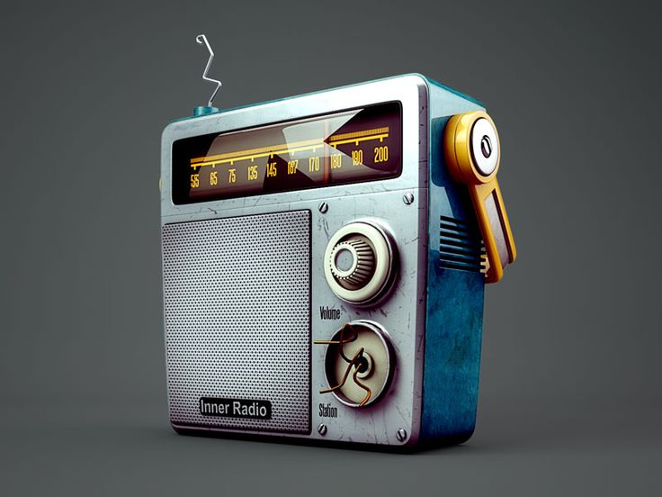 Inner Radio | њам | Pinterest | Illustration, Ui elements and Art