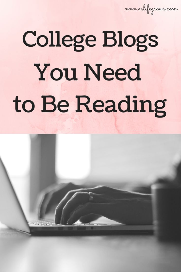 Check out these five awesome college blogs that you need to be reading!