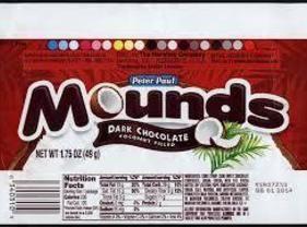Peter Paul Mound Cake