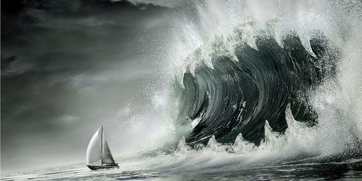 Как появляются блуждающие волны-убийцы