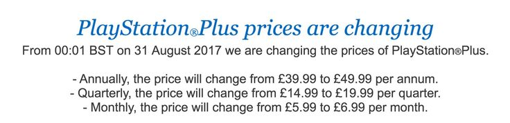 Heads up to every PS Plus user in the UK https://twitter.com/dats/status/890875758968754176 #gamernews #gamer #gaming #games #Xbox #news #PS4