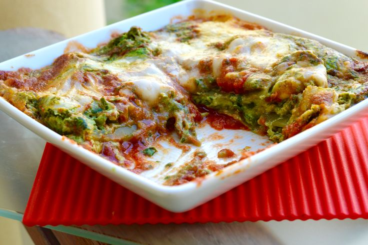 #Recipe for Spinach and Ricotta Lasagne #Vegetarian http://www.suntemplefood.com/spinach-and-ricotta-lasagne/