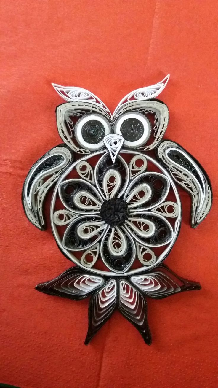 quilling owl