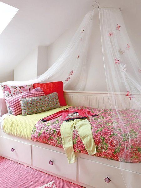 17 mejores ideas sobre camas con dosel de ni a en - Cama princesa nina ...