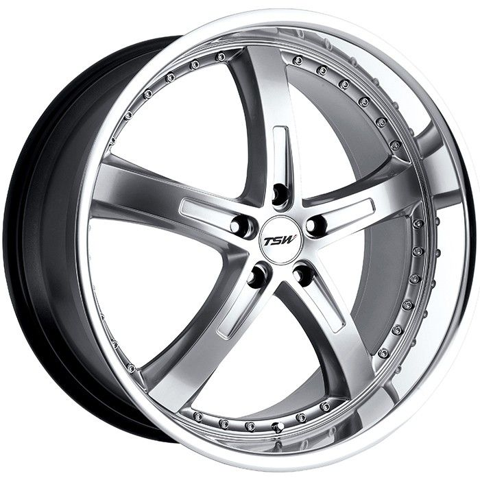 TSW JARAMA SILVER POLISHED alloy wheels with stunning look for 5 studd wheels in SILVER POLISHED finish with 18 inch rim size
