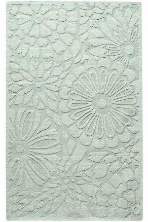 Eau De Nil Fl Rug By Alisonb Life Pinterest Rugs Decor And On Carpet