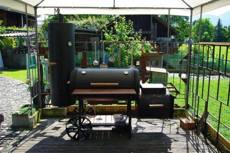 Unser selbstgebauter Smoker Bauanleitung zum selber bauen