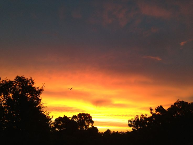 Sunset - No retouching needed, Kalamunda, Western Australia.