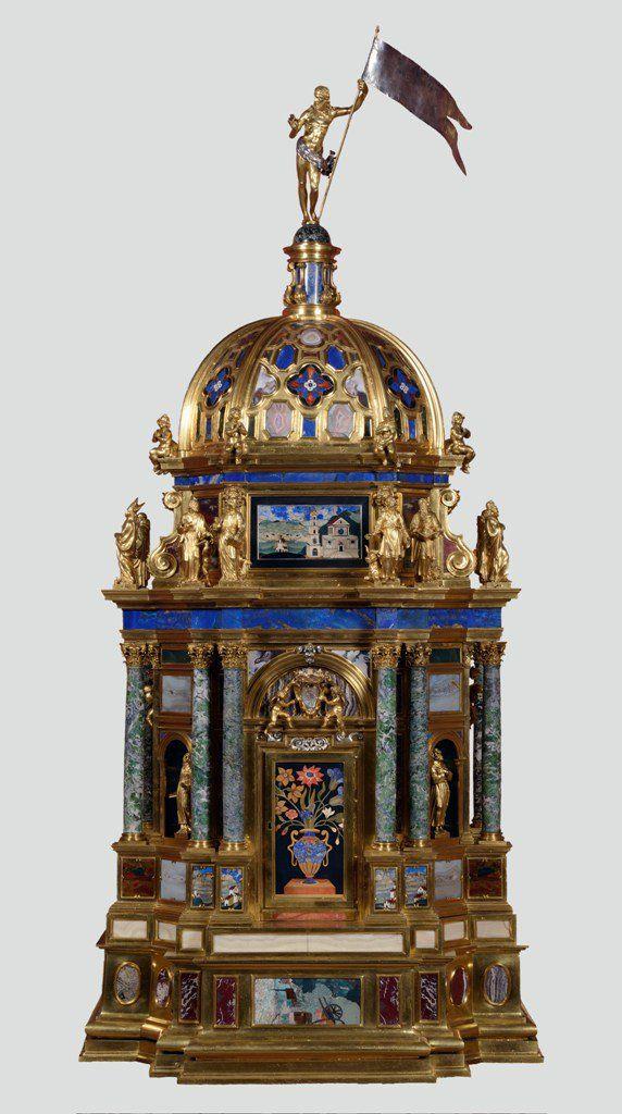 """""""El """"Tabernáculo"""", de Domenico Montini. Monasterio de El Escorial"""