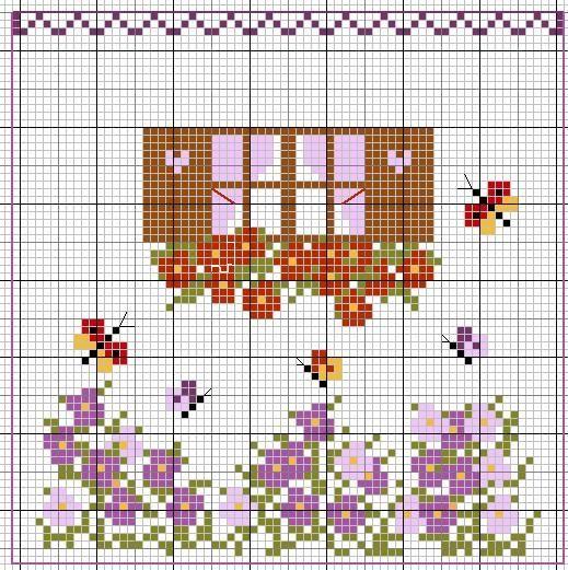 Igolkin Area / The Needle Nook: Lo schema della casa / I Patterns Casa