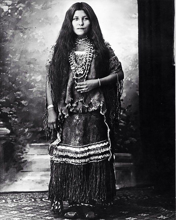 Isabelle Perico Enjady, Chiricahuah Apache Prisoner Of War, 1886-1914