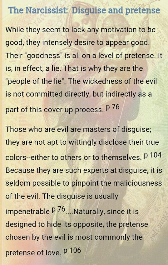 M. Scott Peck / Malignant Narcissism and People of the Lie...