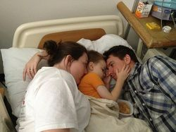 Pray for Noah. Again, I ask you to pray for this little boy and his sweet parents.