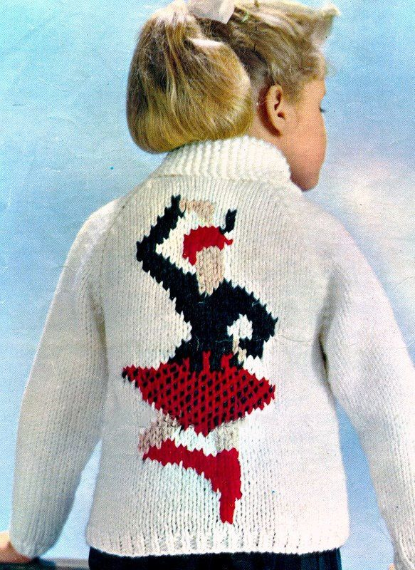 Knitting Pattern for a Scottish Highland Dancer Highland ...