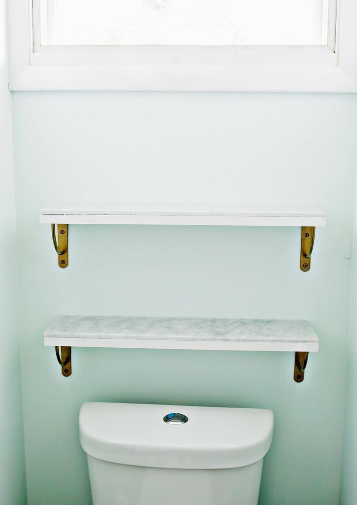 Marble Shelving DIY—Love this! (click through for tutorial)   – Crafty! – #cli… – most beautiful shelves