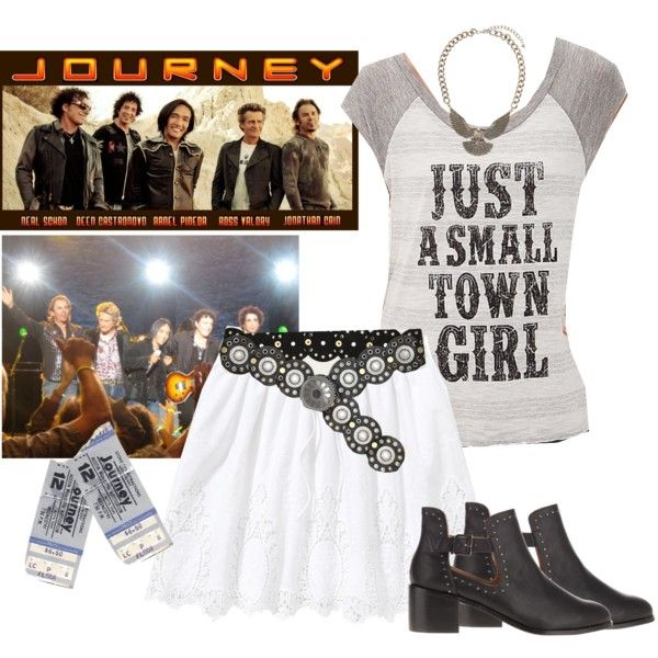 Outfit for Journey Concert
