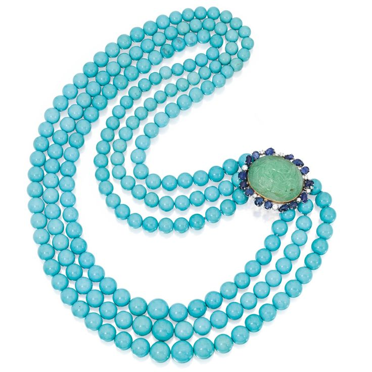Marie Poutine's Jewels & Royals: Turquoise Nec…