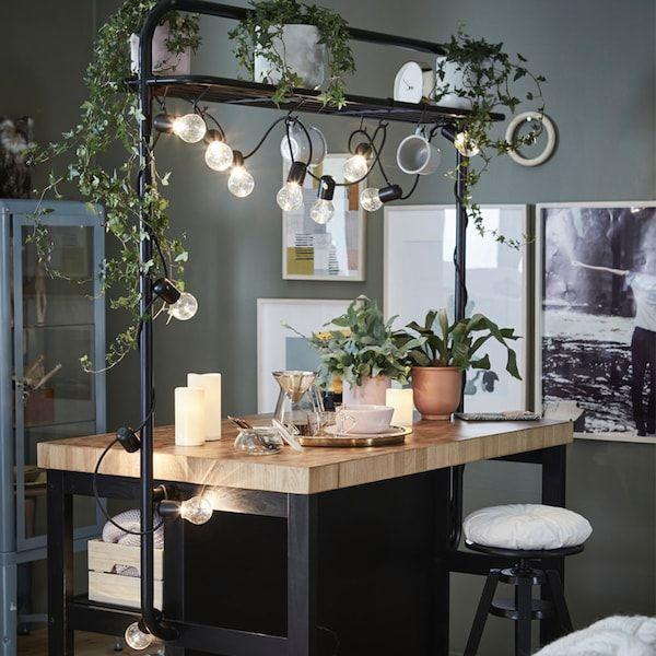 Table haute de cuisine avec tabouret ikea di 2020 Table haute avec tabouret pour cuisine