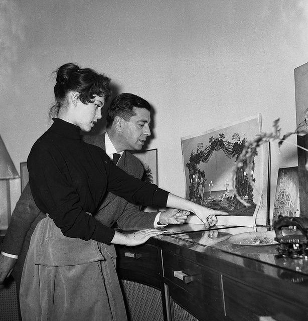 Brigitte Bardot and Marc Allégret