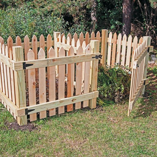 Compost bins don't have to be unsightly or difficult to build. Try these DIY compost in plans for a structure that looks great while it produces compost for your garden.