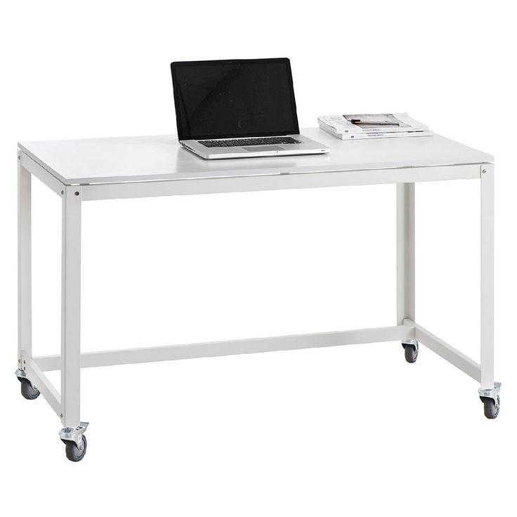 Lovely Desk On Wheels Officeworks