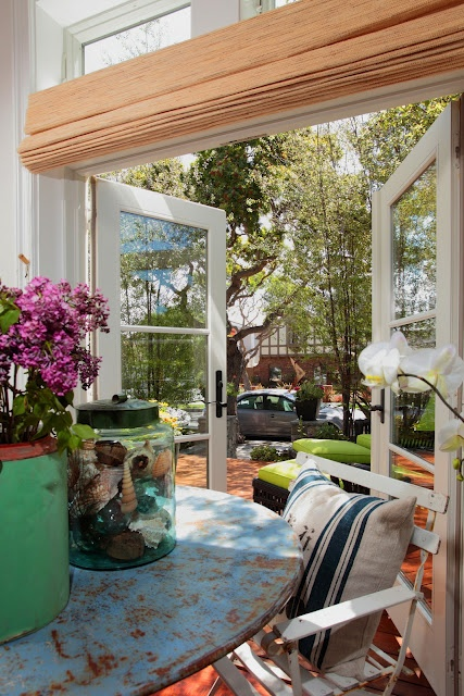 Shade Over French Doors Patio DoorsOutdoor RoomsOutdoor LivingIndoor