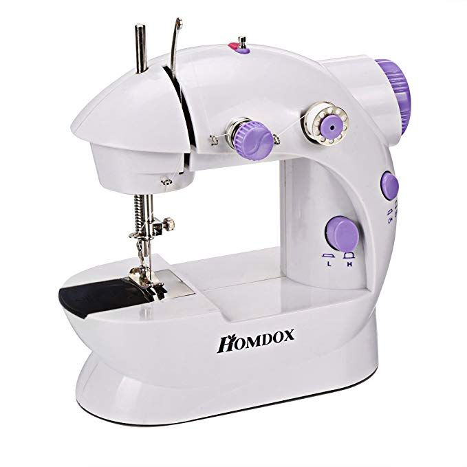 Sewing Machine Electric Mini 2 Speed Foot Pedal Button-hole Sewing Professional