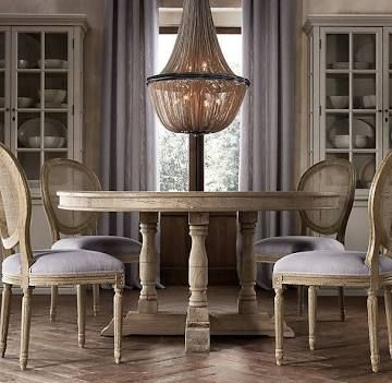 17 best images about breakfast nooks on pinterest chairs dining rooms and nooks - Restoration hardware entry table ...