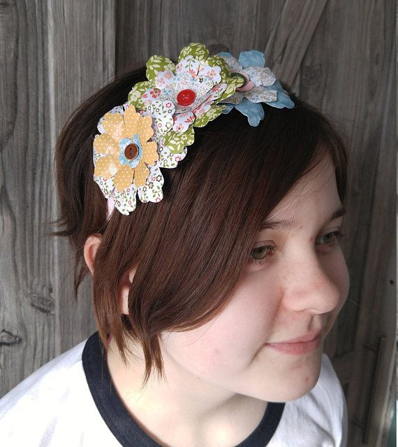 Hey, I found this really awesome Etsy listing at https://www.etsy.com/ca/listing/579133964/paper-floral-headband