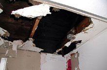 Image result for flood damage ceiling