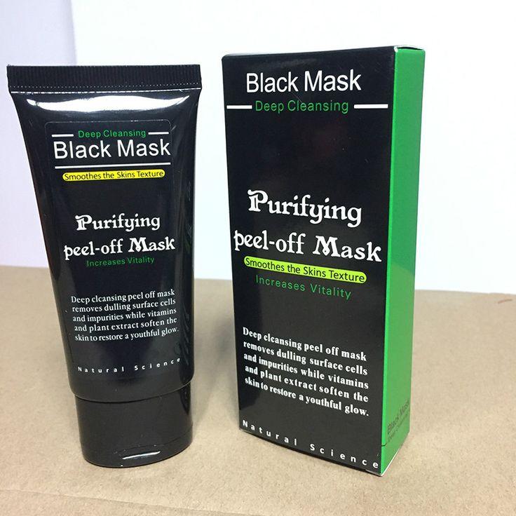 2 stks/partij Comedondrukker Deep Gezichtsmaskers Diepe Reiniging Zuiverende Schil Zwart Nud Facail Gezicht Zwart Masker Neus Mee-eter