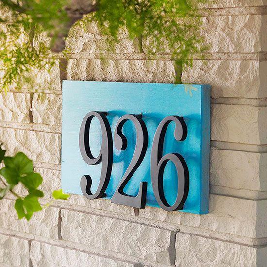 House Number Ideas Rpi Design