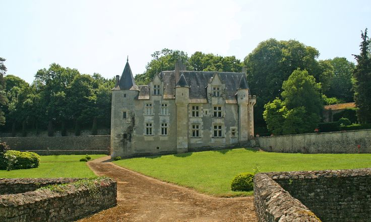 CASTLE NIORT-POITOU-CHARENTES: Take the element of privacy to the next level in this 14-acre feudal château completely enclosed with bridges and moats. In the 15th century, this property served as hunting grounds for an aristocratic family. From Parisian-inspired ceilings and striking fireplaces to terracotta floors and spiral staircases, this castle has hidden treasures around every corner.