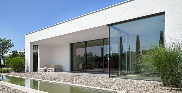 Exterieur architecture pinterest moderne h user for Minimalistisches haus grundriss