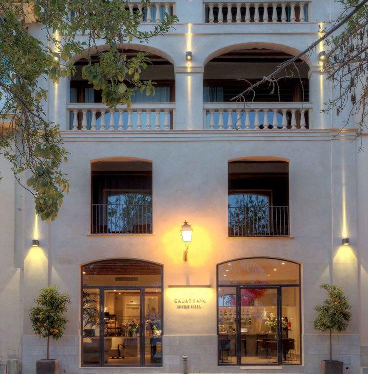 Das Calatrava-Boutique-Hotel.
