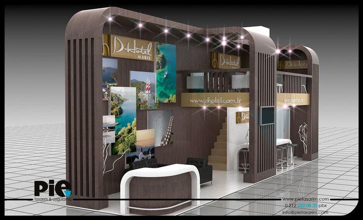 Emitt Fuarı ''D-HOTEL'' Stand Tasarımımız