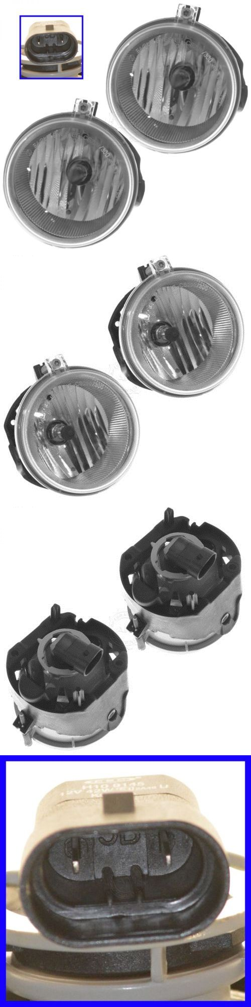 Motors Parts And Accessories: Fog Driving Light Lamp 4805857Aa Pair Set Of 2 For Chrysler Dodge Jeep Car Suv BUY IT NOW ONLY: $38.02