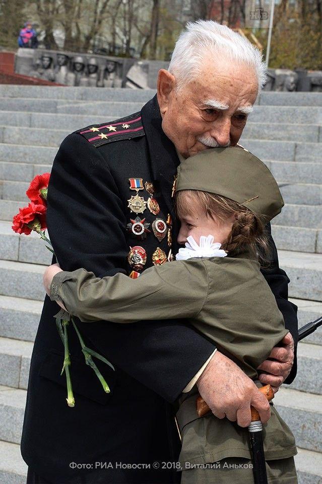 Трогательные фото ветеранов вов
