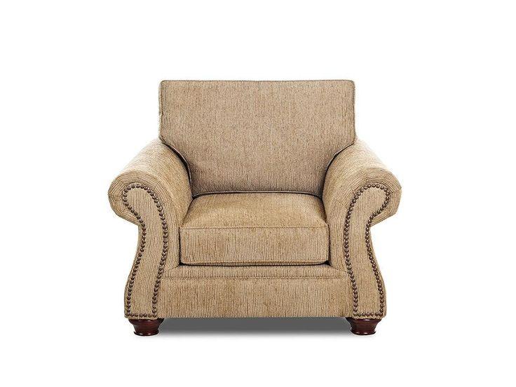 Klaussner Living Room Stuart Chair K39610 C   Klaussner Home Furnishings    Asheboro, North Carolina