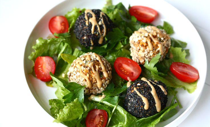 Boulettes de quinoa printanières // Spring quinoa balls - PIMP ME GREEN