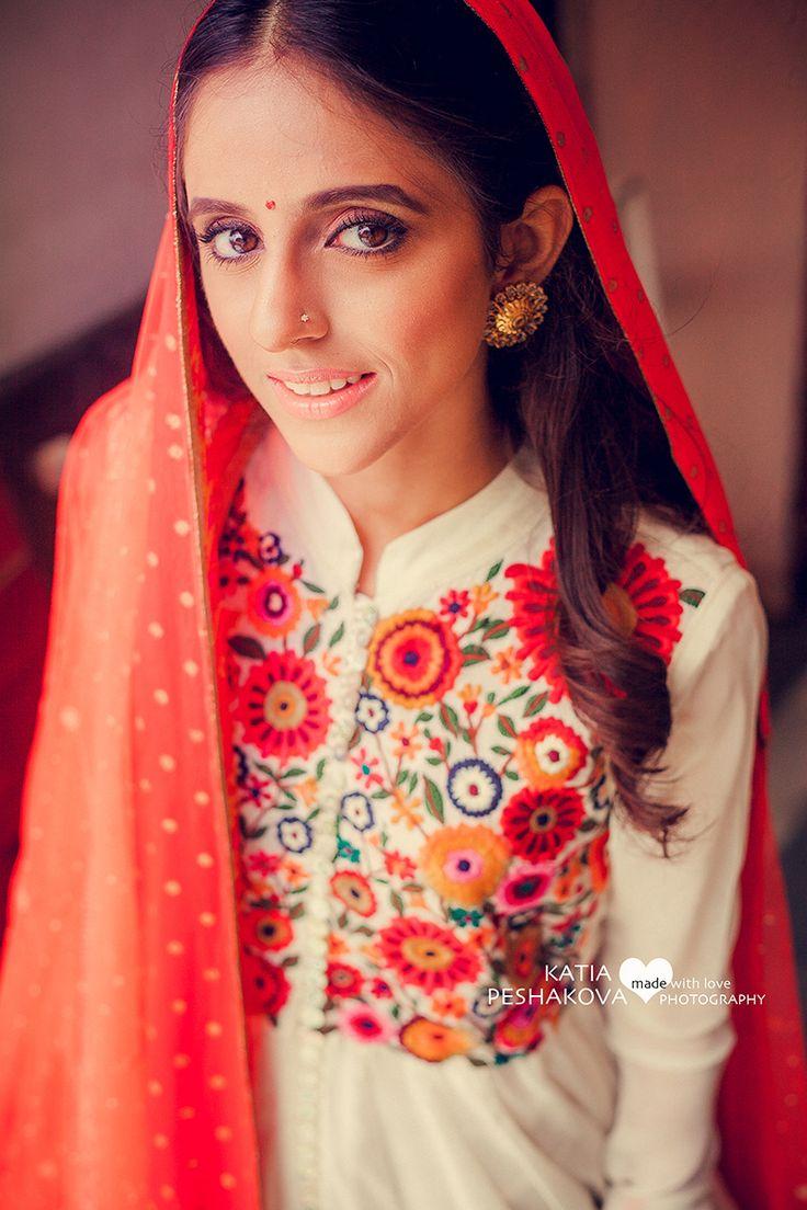 Floral embroidery   Wedding Suit   #Indianbride #wedmegood