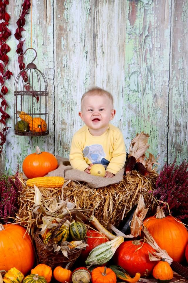 podzimní focení dětí,dýničky