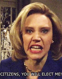 New trending GIF on Giphy. snl saturday night live hillary clinton kate mckinnon citizens you will elect me. Follow Me CooliPhone6Case on Twitter Facebook Google Instagram LinkedIn Blogger Tumblr Youtube