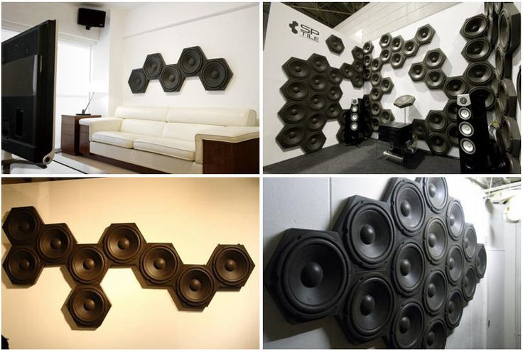 sweet..Typhonics SP-Tiles Are Sound Killers That Look Like Wall Speakers